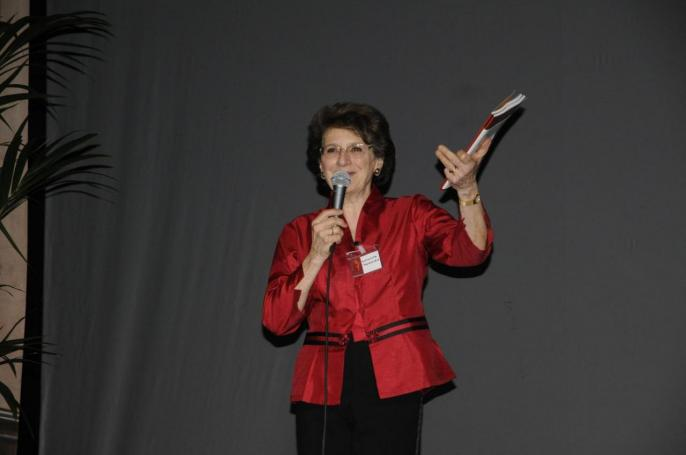 Germaine Tocatlian, the FLAME competition director since 1990